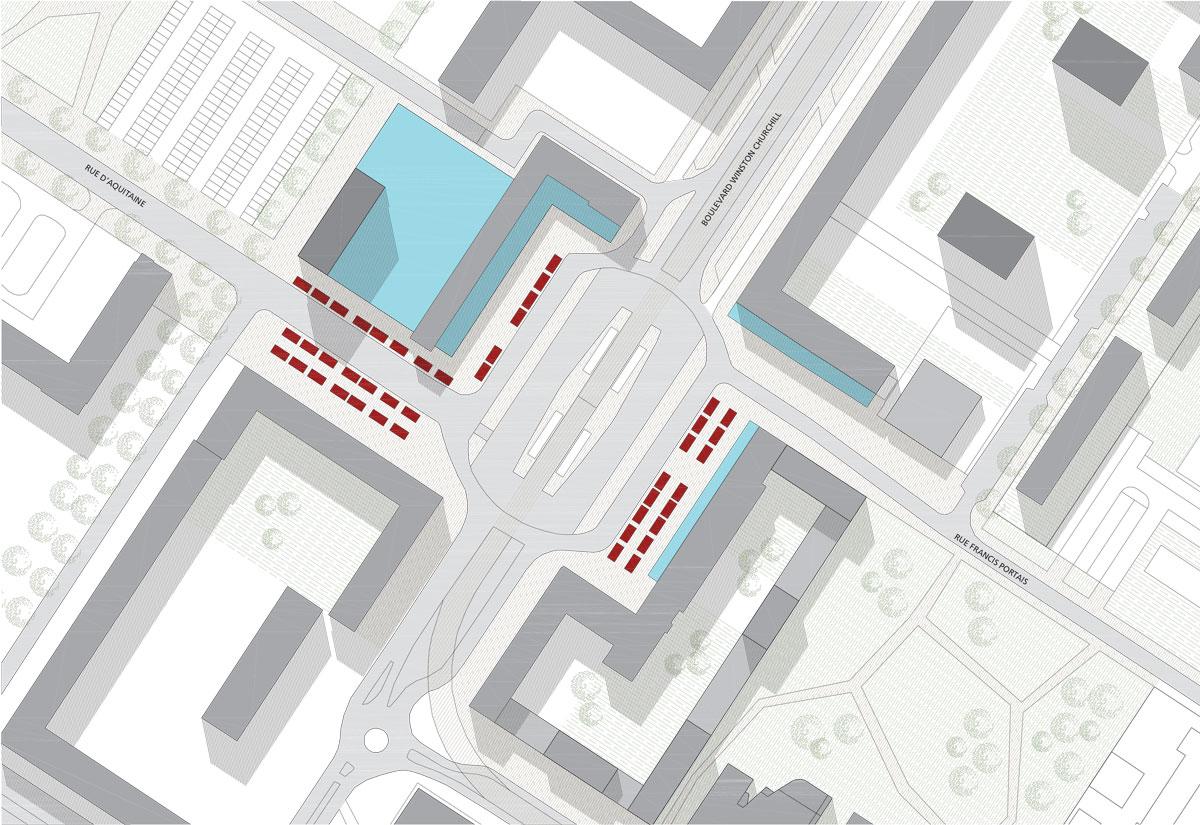 quartier bellevue nantes laus architectes. Black Bedroom Furniture Sets. Home Design Ideas