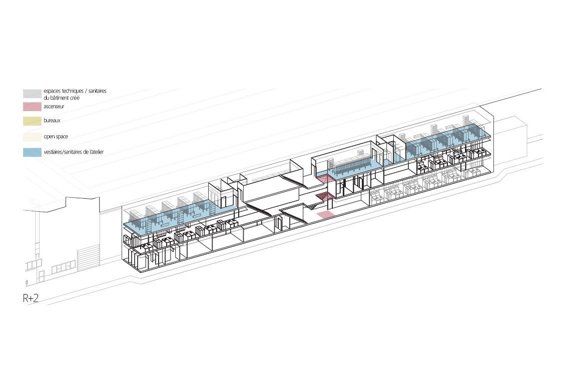 airbus u15 bouguenais laus architectes. Black Bedroom Furniture Sets. Home Design Ideas